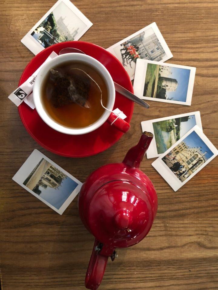 Tea with photos