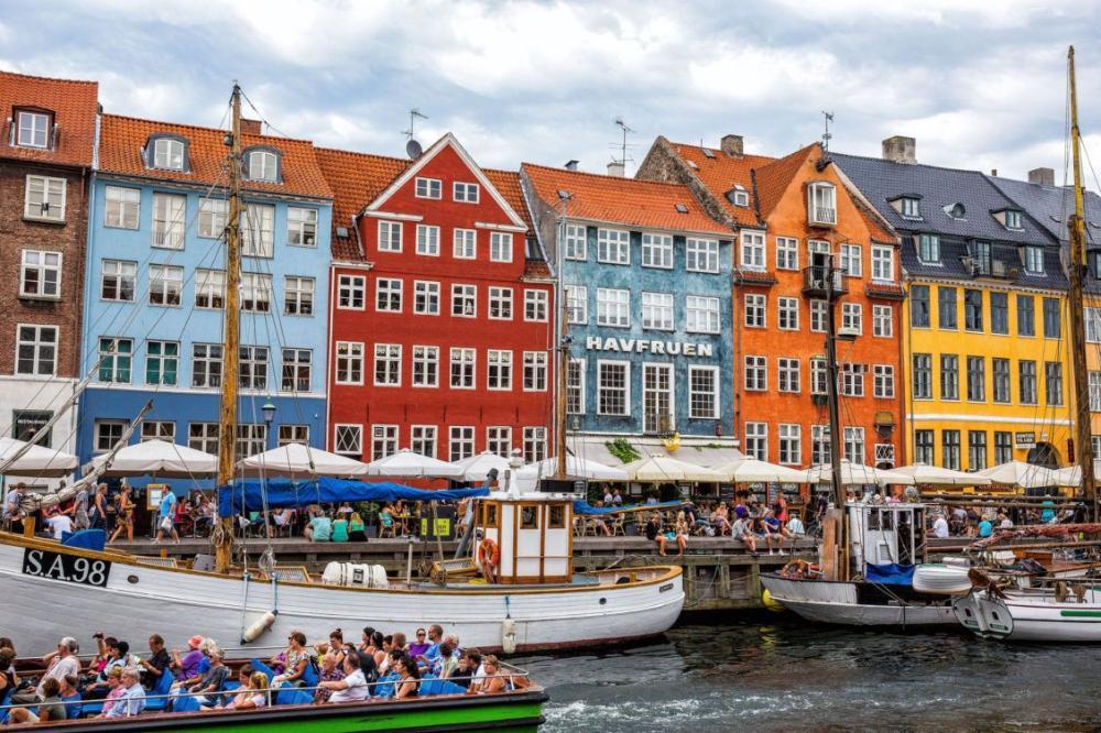 Sweden and Denmark