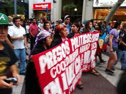Machupe protest