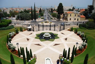 Large garden in Haifa