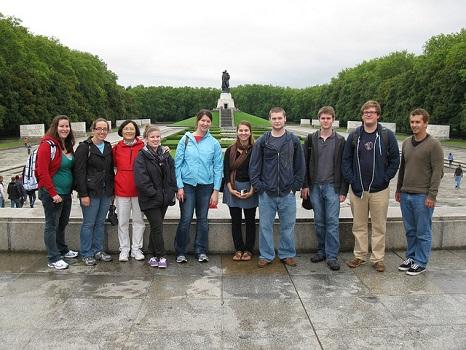Students in Berlin.