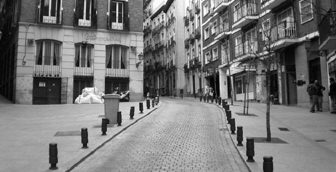 A street in Madrid.