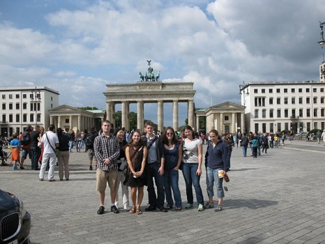 Students in Berlin.